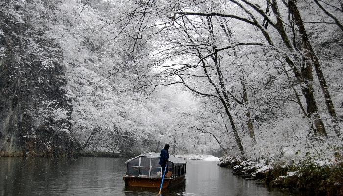 日本百景の絶景川下り